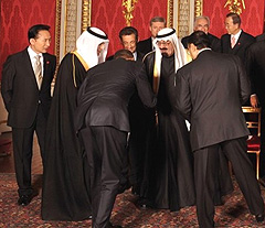 Obama Bows Down to Saudi King